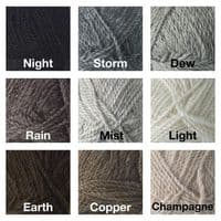 Devon Ladder and Cable Top Knitting Kit